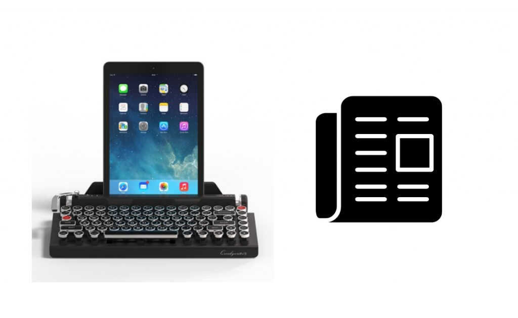 QWERKYWRITER typewriter USB Bluetooth keyboard