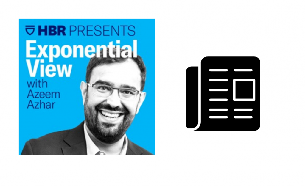 Exponential View Podcast